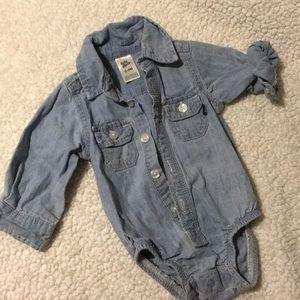 Baby B'gosh Jean Onesie size 0-3 months